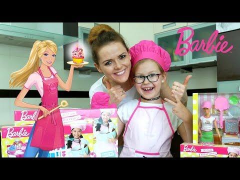 WSPÓLNE GOTOWANIE Z BARBIE + KONKURS i unboxing Barbie Pizzeria, Barbie Zestaw Kreatywny
