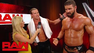 Dolph Ziggler & Robert Roode speak on their new partnership: Raw, Aug. 26, 2019