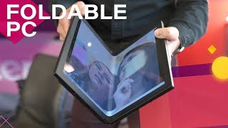 Foldable PCs are Coming, and Lenovo's Prototype Will Blow You Away