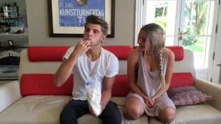 "The ""Stuff Your Mouth"" Marshmallow Challenge with Lele Pons"