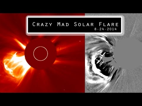 Sun BOOM - M class 5.9 CME & Solar Flare -Nasty!