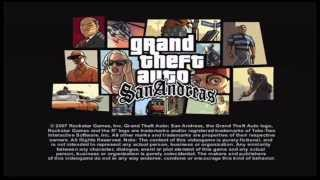 GTA San Andreas Japanese version intro - PS2