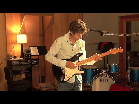 Eric Johnson at Saucer Studios, Austin TX