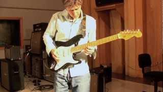 Eric Johnson at Saucer Studios, Austin TX
