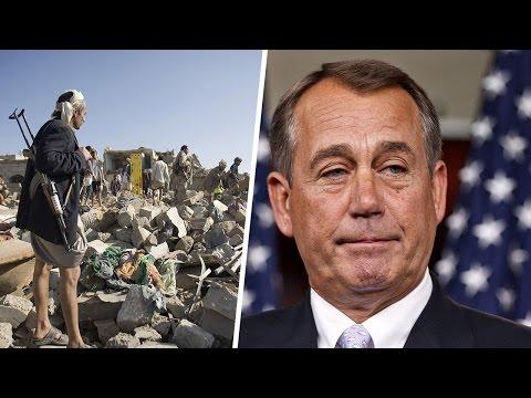 John Boehner Bashes Obama Over Saudi Arabia Yemen Airstrikes