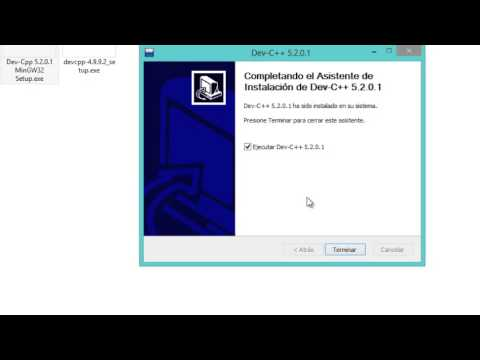 instalacion y descarga dev c++ para windows 7 y 8