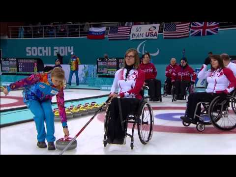 Wheelchair Curling   March 13   Team Canada Daily Highlights   Sochi 2014 Paralympics