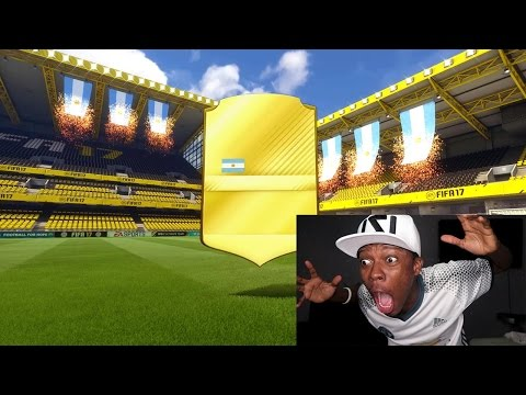 OMG YOU WON'T BELIEVE WHO I PACKED !!! FIFA 17 PACK OPENING