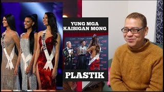 Miss U Commentators,BIASED Against CATRIONA GRAY?🌎REACTION.