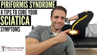 Sciatica Pain Relief For Piriformis Syndrome - Stretches and Exercises
