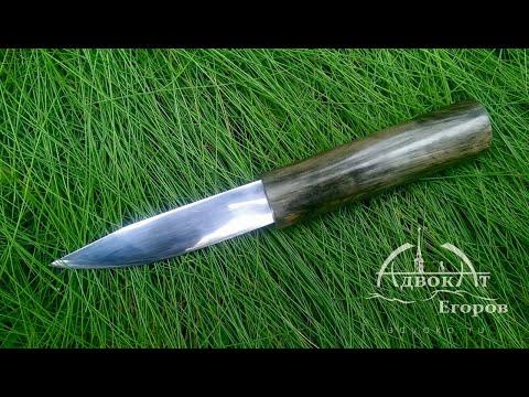 Самодельный нож ЯКУТ     north knife DIY
