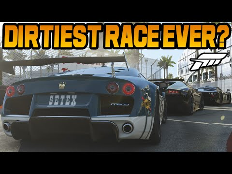 Forza 6 THE DIRTIEST RACE OF ALL TIME (Online Gameplay)