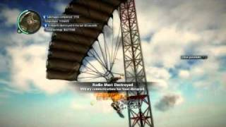 Just Cause 2 Radio Mast Destroying