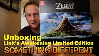 RCing Around- Something Different: Link's Awakening Limited Edition: Unboxing. The Legend of Zelda.