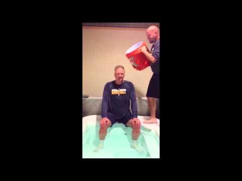 Larry Bird Takes The ALS Ice Bucket Challenge