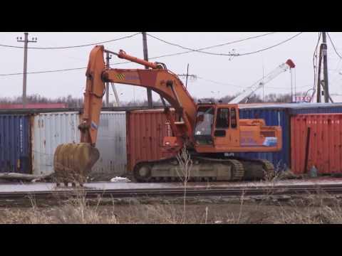 Хроника дня. Подтопление в Любинском районе. 19.04.2017