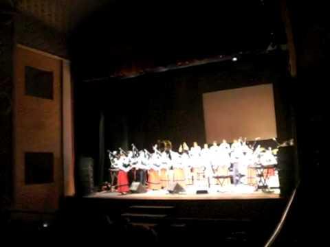 Banda de Gaitas Fray Pedro Soler en el concierto de Budiño
