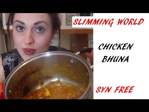 Syn Free Chicken Bhuna Curry Fakeaway Recipe Slimming World/Healthy Eating/Fat Free