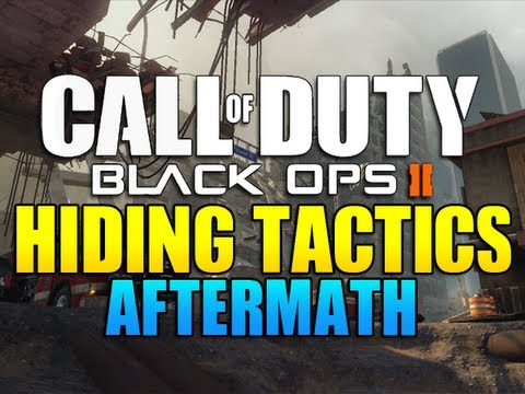 Black Ops 2 - Hiding Tactics on Aftermath