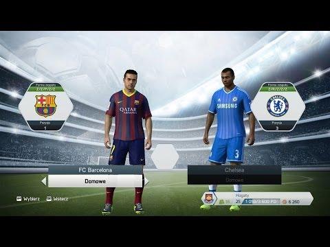 Zagrajmy W Fifa 14 - Hogaty Vs Zirael # liga Mistrzów Grupa D - Barcelona Vs Chelsea video