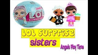 LOL dolls surprise and shopkins playing with mum toy shopping in smyths and toys r us