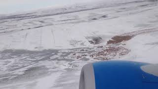 Take off from Gyumri Shirak Airport