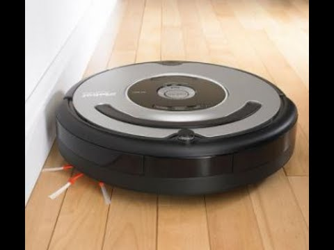 irobot roomba 560 le robot aspirateur en action youtube. Black Bedroom Furniture Sets. Home Design Ideas