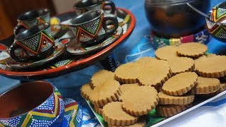 Ethiopian Beso Snack Recipe - Not Drink - Great with Coffee Amharic