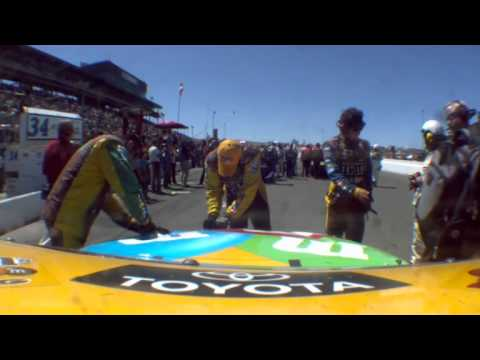 2012 Toyota/Save Mart 350: Kyle Busch Furious After Crash/TNT Post Race Show