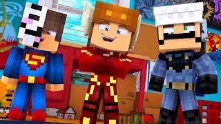 Minecraft Daycare - BABY SUPERHEROES! w/ MooseCraft (Minecraft Kids Roleplay) (Episode 2)