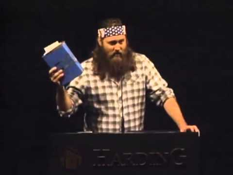 Willie Robertson at Harding University 11/28/2012