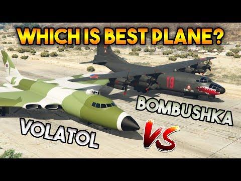 GTA 5 ONLINE : VOLATOL VS BOMBUSHKA (WHICH IS WORST AIRPLANE?)