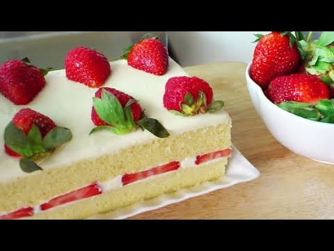 How to Make Japanese Strawberry Shortcake (Strawberry Cream Cake)
