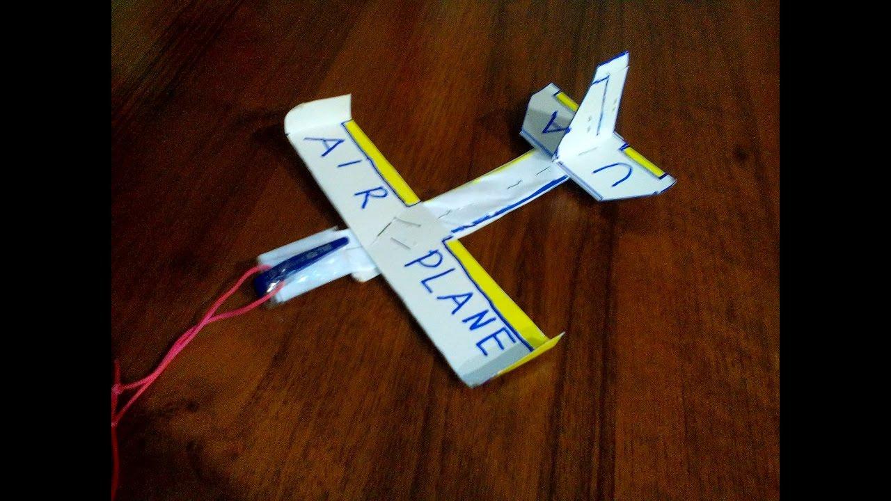 Летающий самолетик своими руками 15