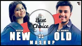 New vs Old Bollywood Songs Mashup MP3 Audio | Raj Barman ft. Deepshikha | By Bhadresh