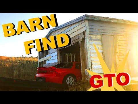 We Found a MITSUBISHI GTO in a BARN??