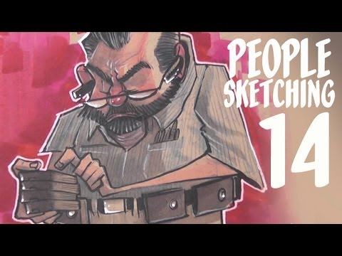 HOW to get GOOD feedback - people sketching episode 14