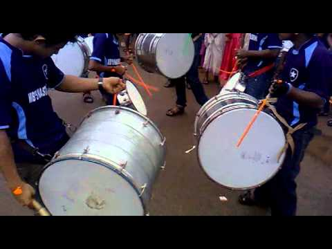 nasik dhol with monsoon beats thammanam.