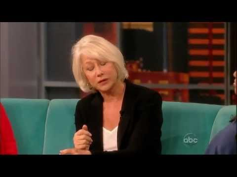 Helen Mirren on 'The View' (09/08/2011)