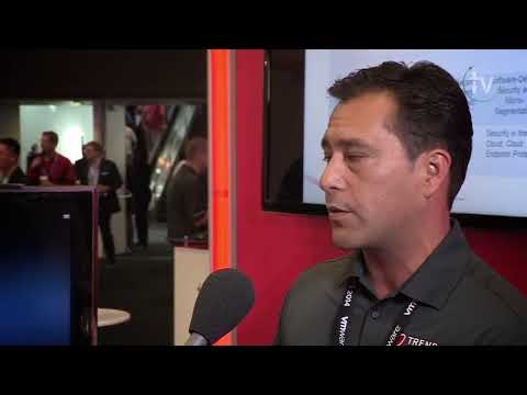 VMworld TV Interview: Danny Claproth of Trend Micro