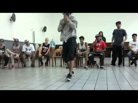 Rick Barbosa - Live Dance 3 The Killah Freestep 2014 video