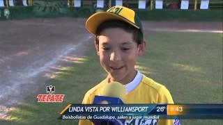 Las Noticias - Salen peloteros de Linda Vista por el sueño Williamsport