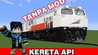 Cara Membuat Kereta Bisa Bergerak - Minecraft Indonesia !!!