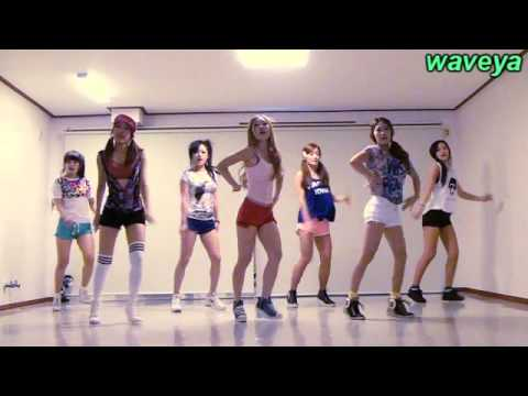 Waveya 웨이브야 # Wonder Girls 원더걸스 Like This - K Pop Cover Dance Practice video