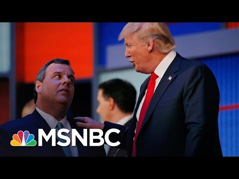 Chris Christie Being Vetted As Donald Trump's Running Mate | Morning Joe | MSNBC