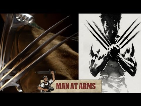 X-men Wolverine Claws (the Wolverine) - Man At Arms video