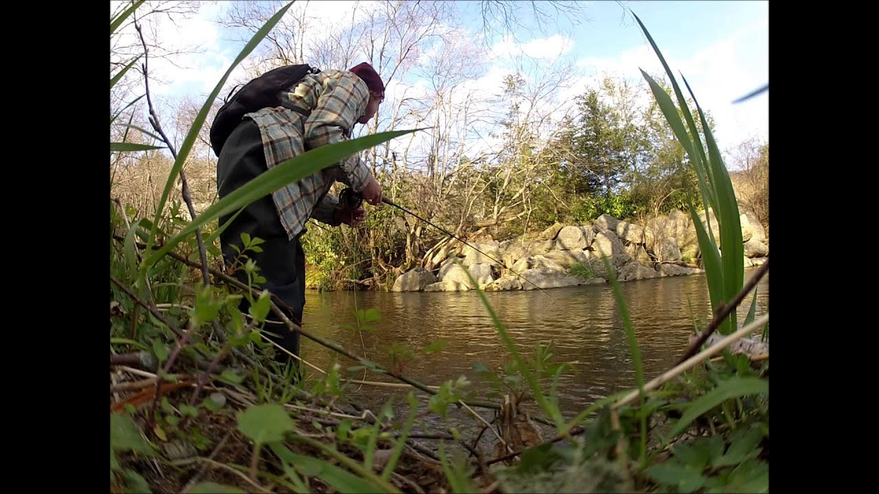 Fly fishing the south fork of the new river north for Carolina fishing tv