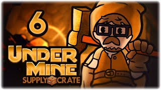 NEW POTION COMPLETELY CHANGES THE GAME!! | Let's Play UnderMine | Part 6 | Supply Crate Update