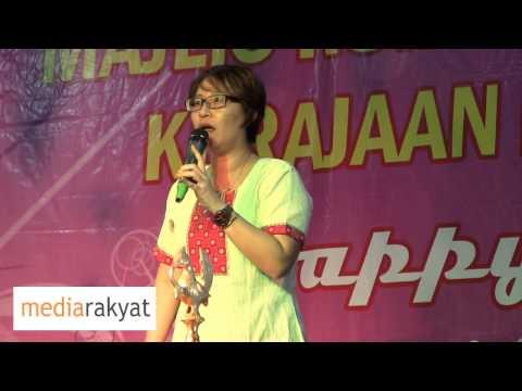 Elizabeth Wong: Samy Vellu, Siapa Yang Rampas Tanah Rakyat Di Negeri Selangor?