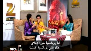 Rockstar Star-cast  interview on Zee Aflam